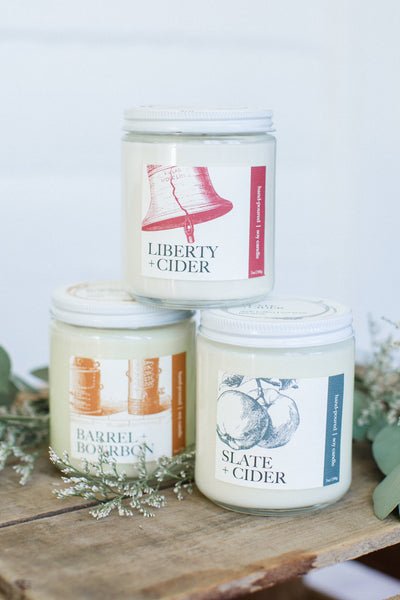 Liberty + Cider Candle | NOTE Fragrances