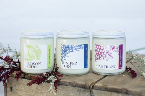 Hudson + Cider Candle | NOTE Fragrances