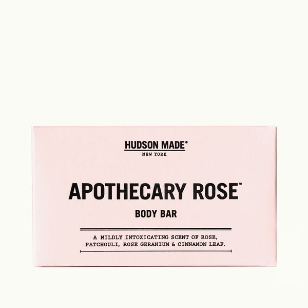 Apothecary Rose Body Bar | Hudson Made