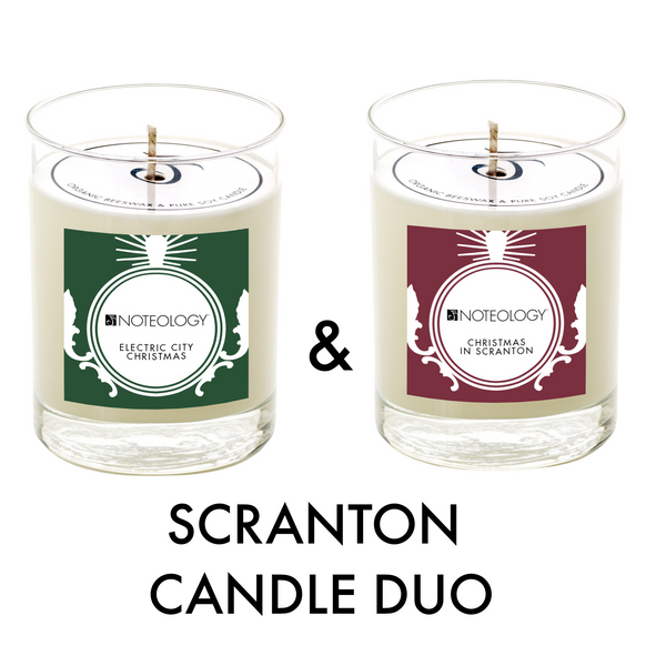 Scranton Candle Duo | Noteology
