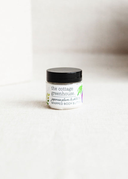 Japanese Plum & White Tea Body Butter Mini | Cottage Greenhouse