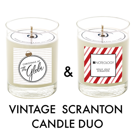 Vintage Scranton Candle Duo | Noteology