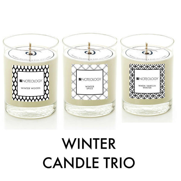 Winter Candle Trio | Noteology