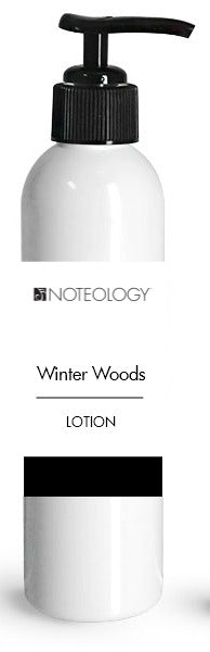 Winter Woods Lotion | Noteology