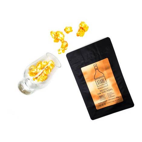 Whisky on the Pops Alcohol Infused Gourmet Popcorn
