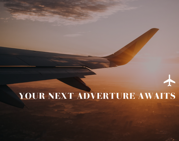 Your next Adventure Awaits--Label