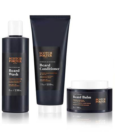 Beard Essentials Kit by Scotch Porter
