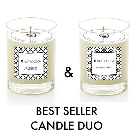 Best Seller Candle Duo | Noteology