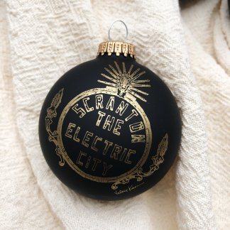 Electric City Ornaments by Valerie Kiser Design