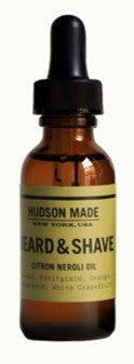 Beard and Shave Citron Neroli Oil | Hudson Made