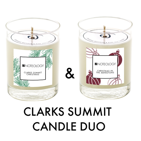 Clarks Summit Candle Duo