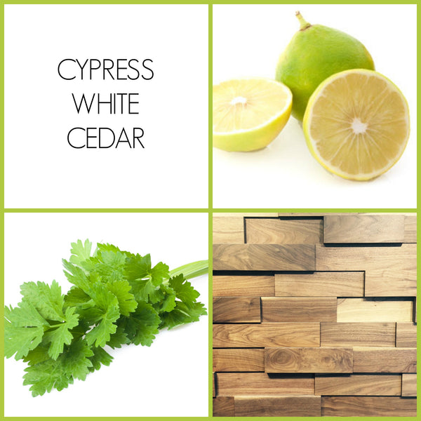 Cypress White Cedar Sample | Noteology