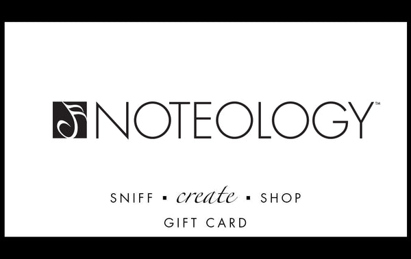 Gift Certificate for a Custom Perfume Studio | Noteology