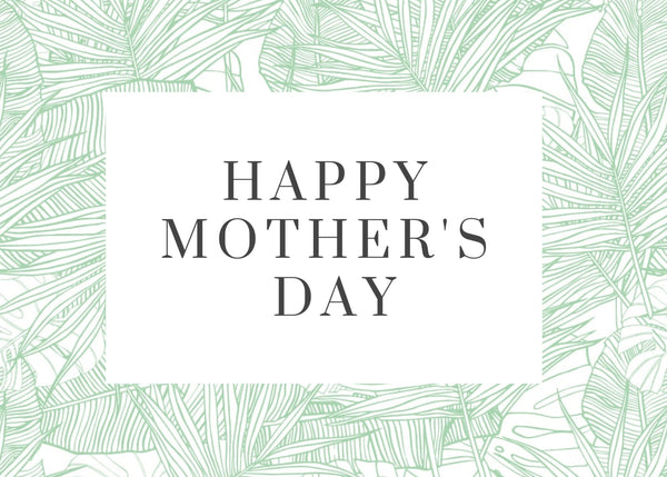 Happy Mother's Day-- Label