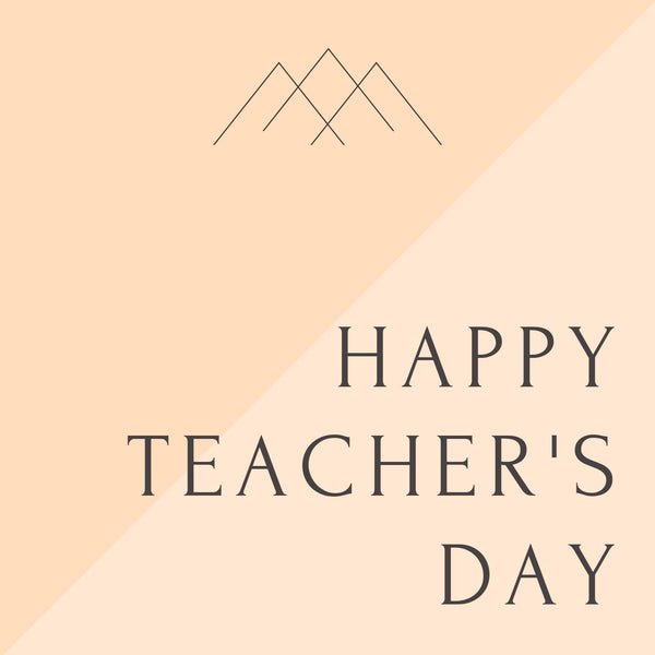 Happy Teacher's Day--Label