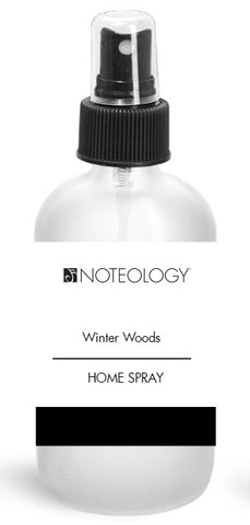 Winter Woods Home Spray | Noteology
