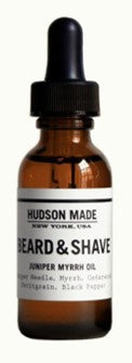 Beard and Shave Juniper Myrrh Oil | Hudson Made