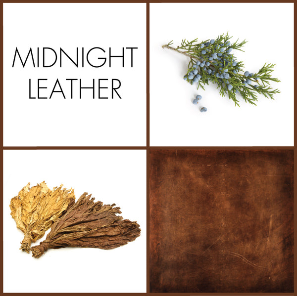 Midnight Leather Sample | Noteology
