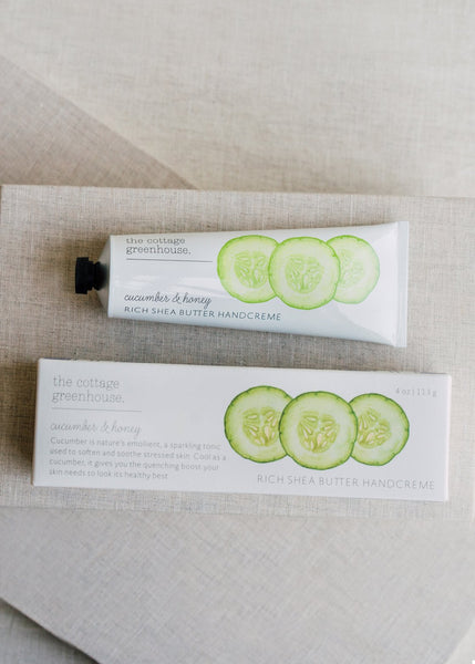 Cucumber & Honey hand Creme | Cottage Greenhouse