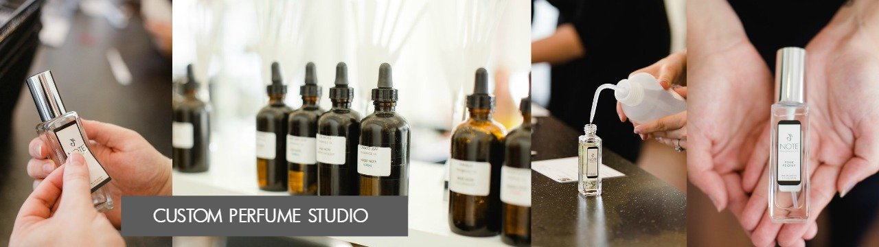Custom Perfume Studio | NOTE Fragrances