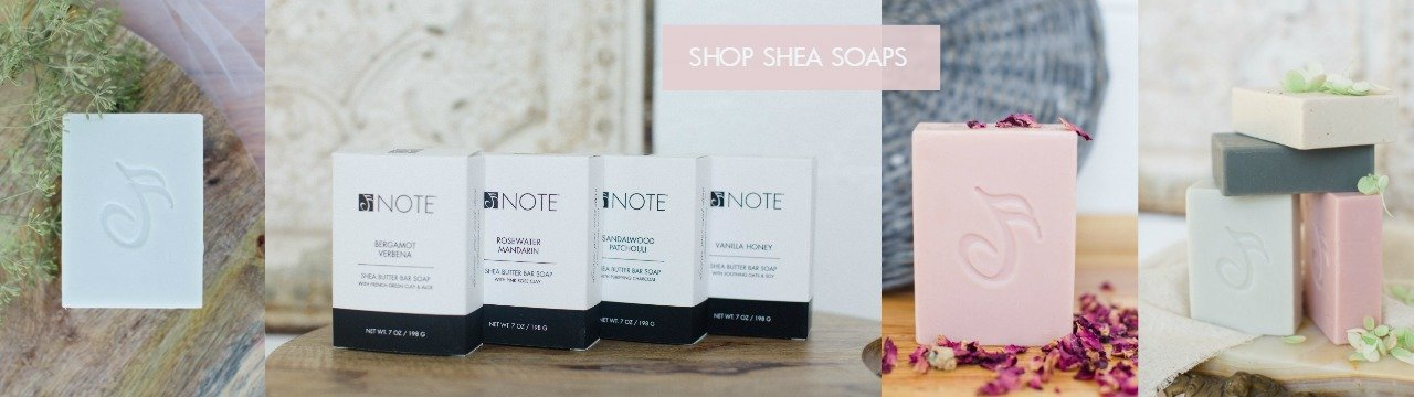 Shea Butter Bar Soap | NOTE Fragrances