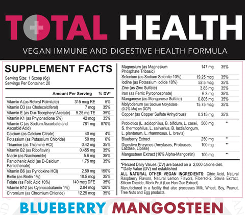 TOTAL HEALTH BLUEBERRY MANGOSTEEN