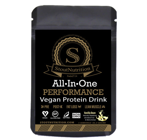 All in One Performance - Vegan Protein - Single Packet