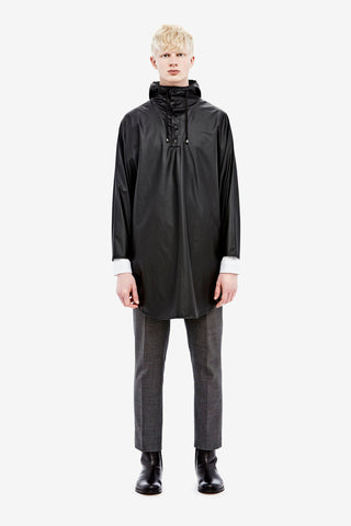 RAINS - Poncho Black men's - LA LUCE  - 2