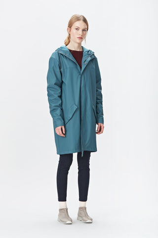 RAINS Alpine Jacket - Pacific