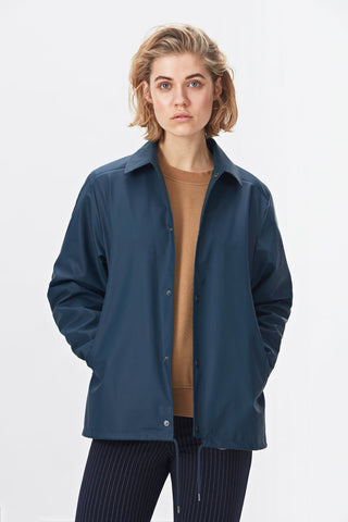 Rains Coach Jacket - modrá