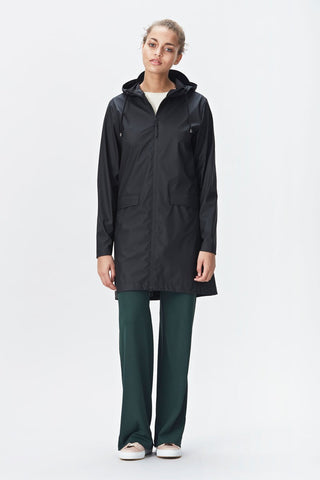 RAINS W Coat - Black