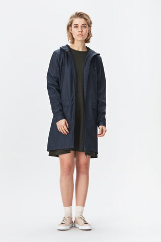 RAINS W Coat - Blue