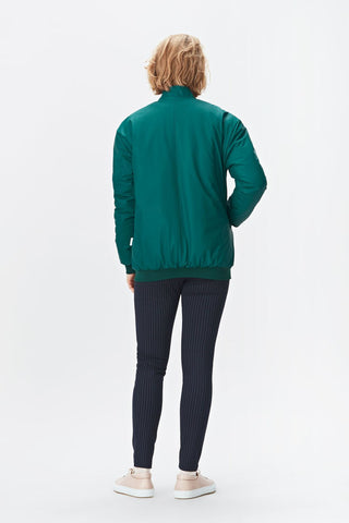 Rains B15 Bomber - dark teal, Bundy - LA LUCE