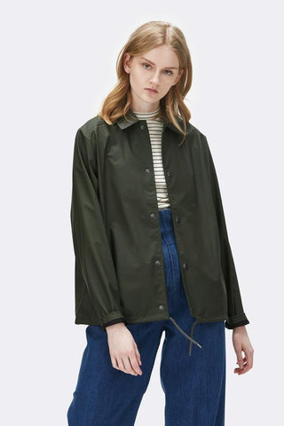 Rains Coach Jacket - zelená
