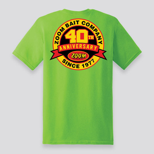 ZOOM 40th Anniversary Short Sleeve T-Shirt