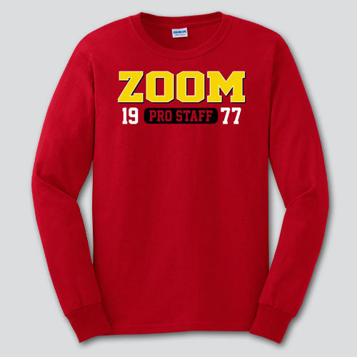 ZOOM Red Pro Staff Long Sleeve Shirt