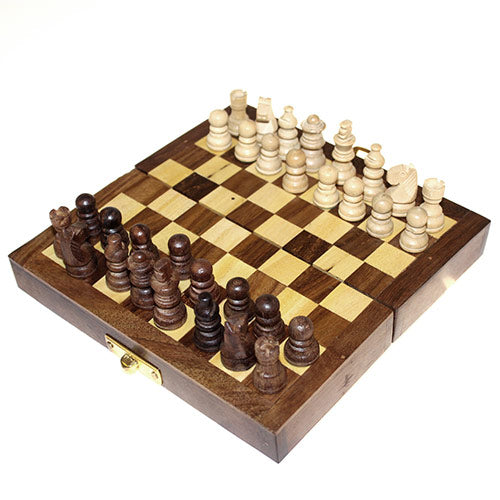 Small Classic Chess Set 15cm