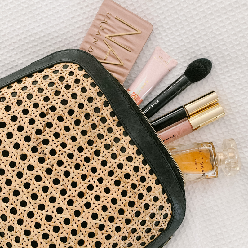 Heather Essentials Makeup Bag/ Clutch