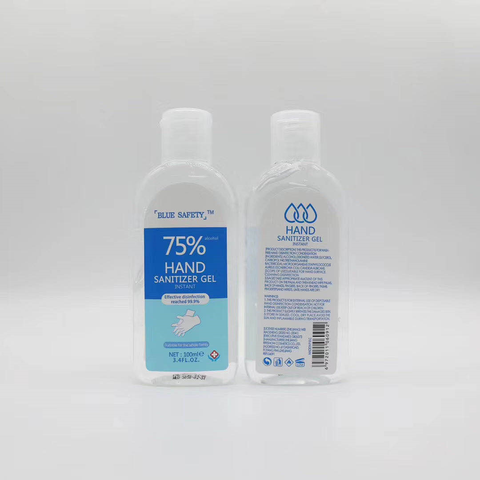 3.4 OZ HAND SANITIZER - 24 PER BOX