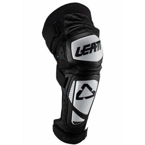LEATT Knee & Shin Guards EXT Junior - White/Black