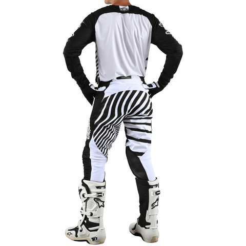 Bikses Troy Lee Designs GP AIR Drift - Black/White 2021