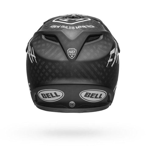Ķivere Bell Full-9 Carbon Fasthouse - Matte Black/White