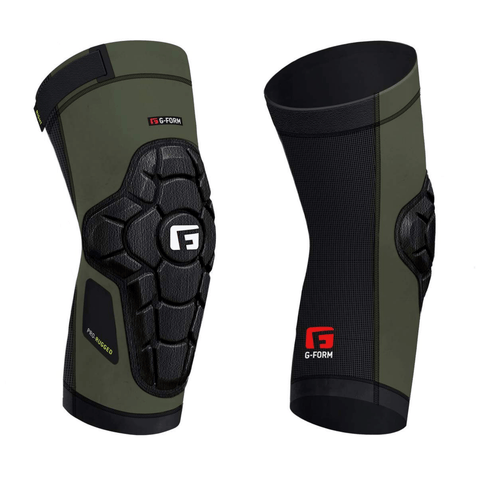 G-Form Pro Rugged Knee Guards - Army Green