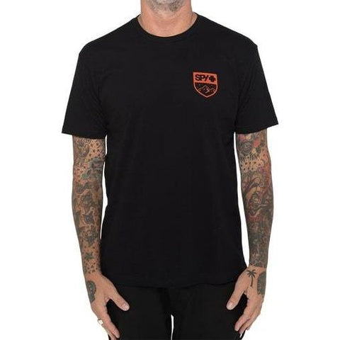 SPY T-Shirt Alpine Badge 2 - Black