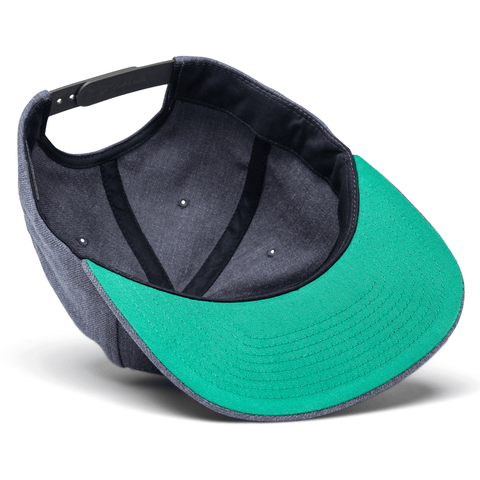 SPY Bentley Patch Snapback Hat - Charcoal