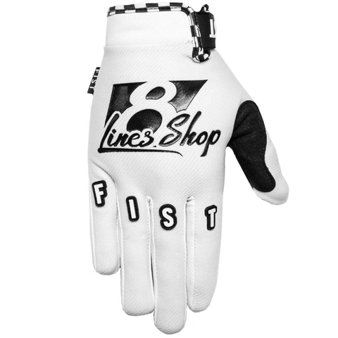 FIST Gloves 8Lines Shop - White