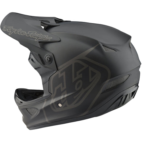 Ķivere Troy Lee Designs D3 Fiberlite - Mono Black 2020