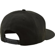 Troy Lee Designs Classic Signature Snapback Hat - Black/Black