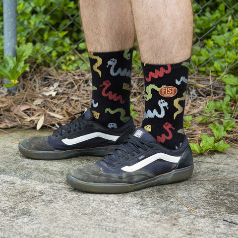 FIST Crew Socks - Snakey