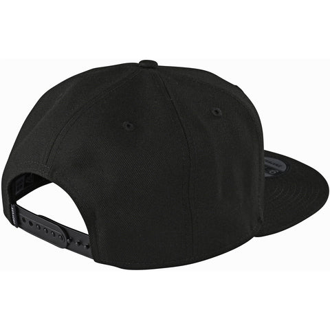 Cepure Troy Lee Designs Precision 2.0 Snapback - Black 2020